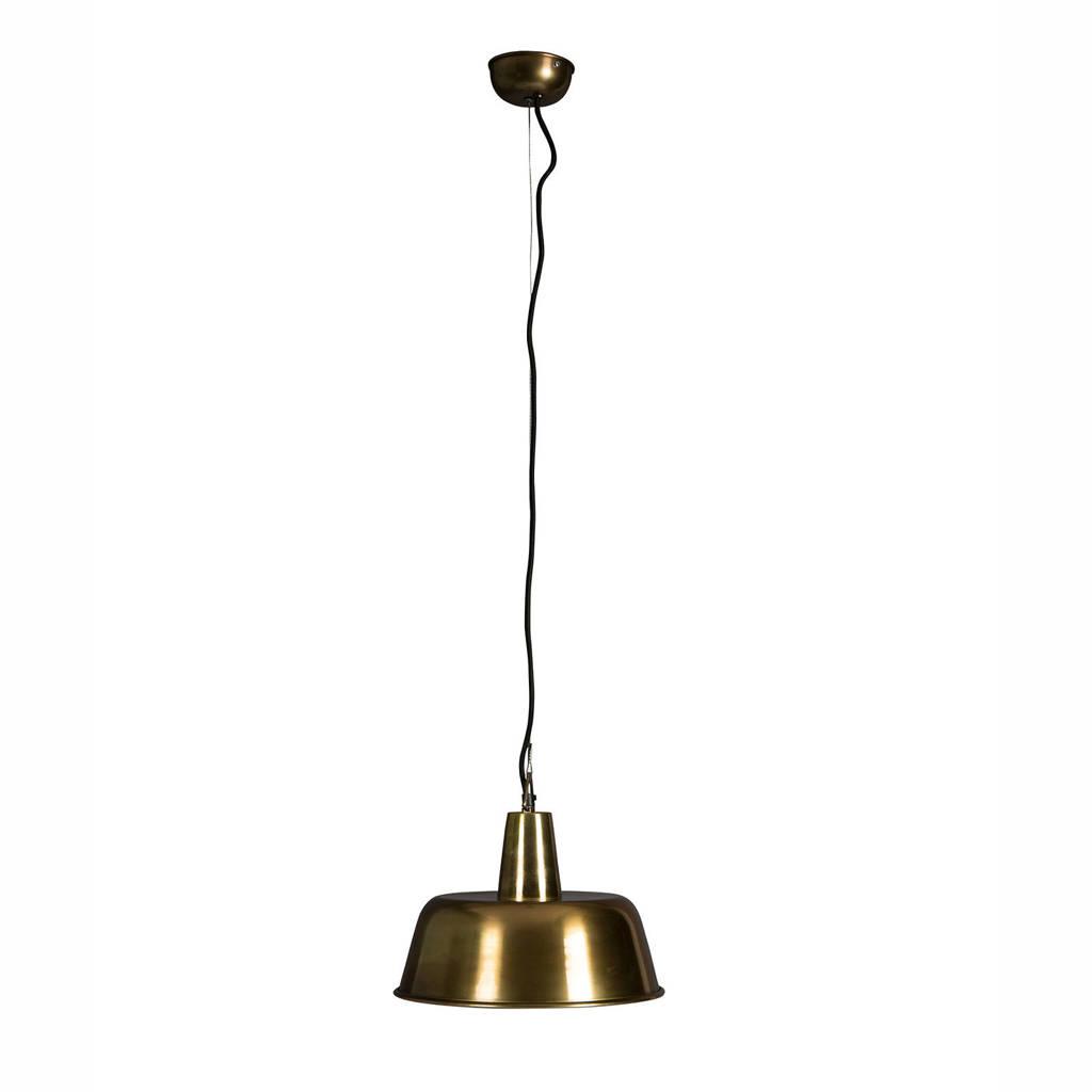 Dutchbone Hanglamp Brass, Goud
