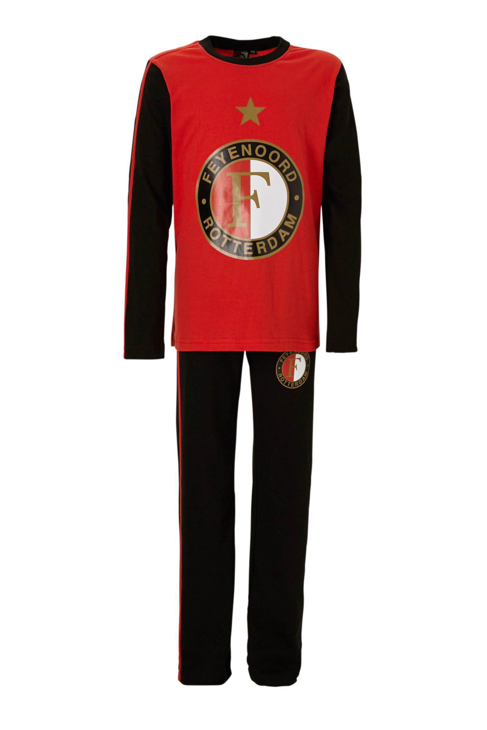 Feyenoord kids pyjama   wehkamp