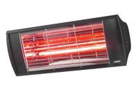 Eurom heater Goldsun Supra 2000, Zwart