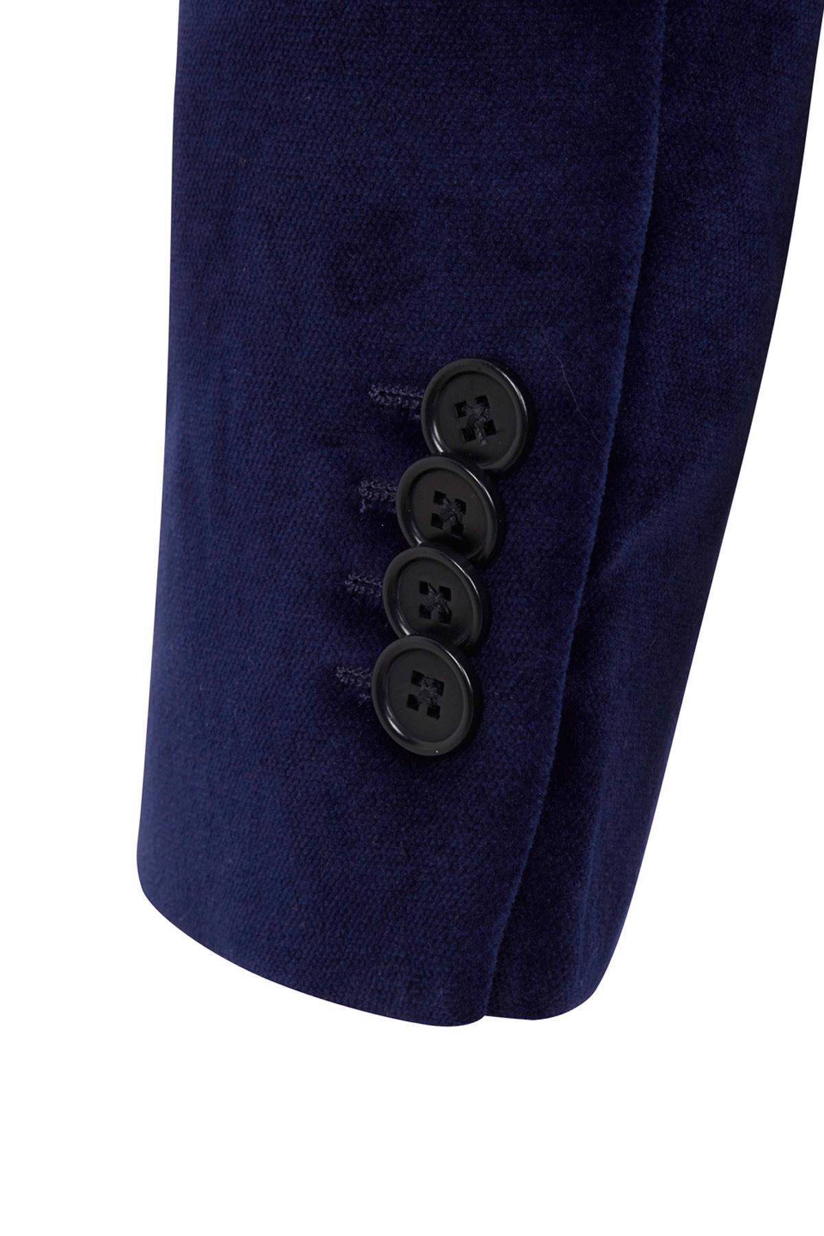 velours blazer
