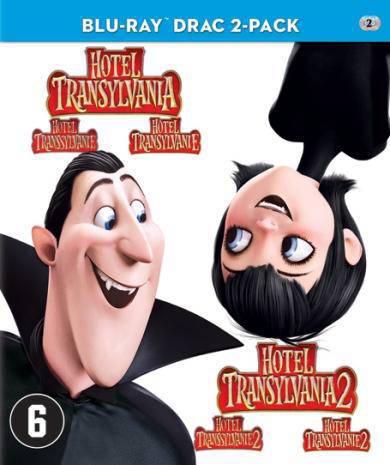 Hotel Transsylvanië 1+2 (Blu-ray)