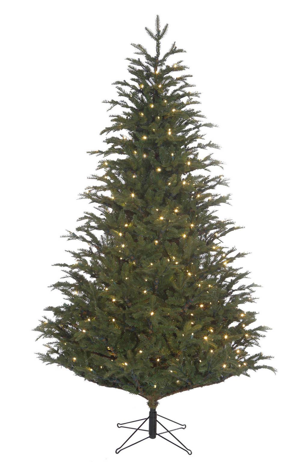 black box kerstboom 215x145 cm groen