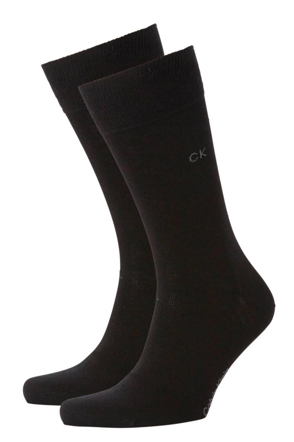 Calvin Klein sokken - 2 paar, Zwart