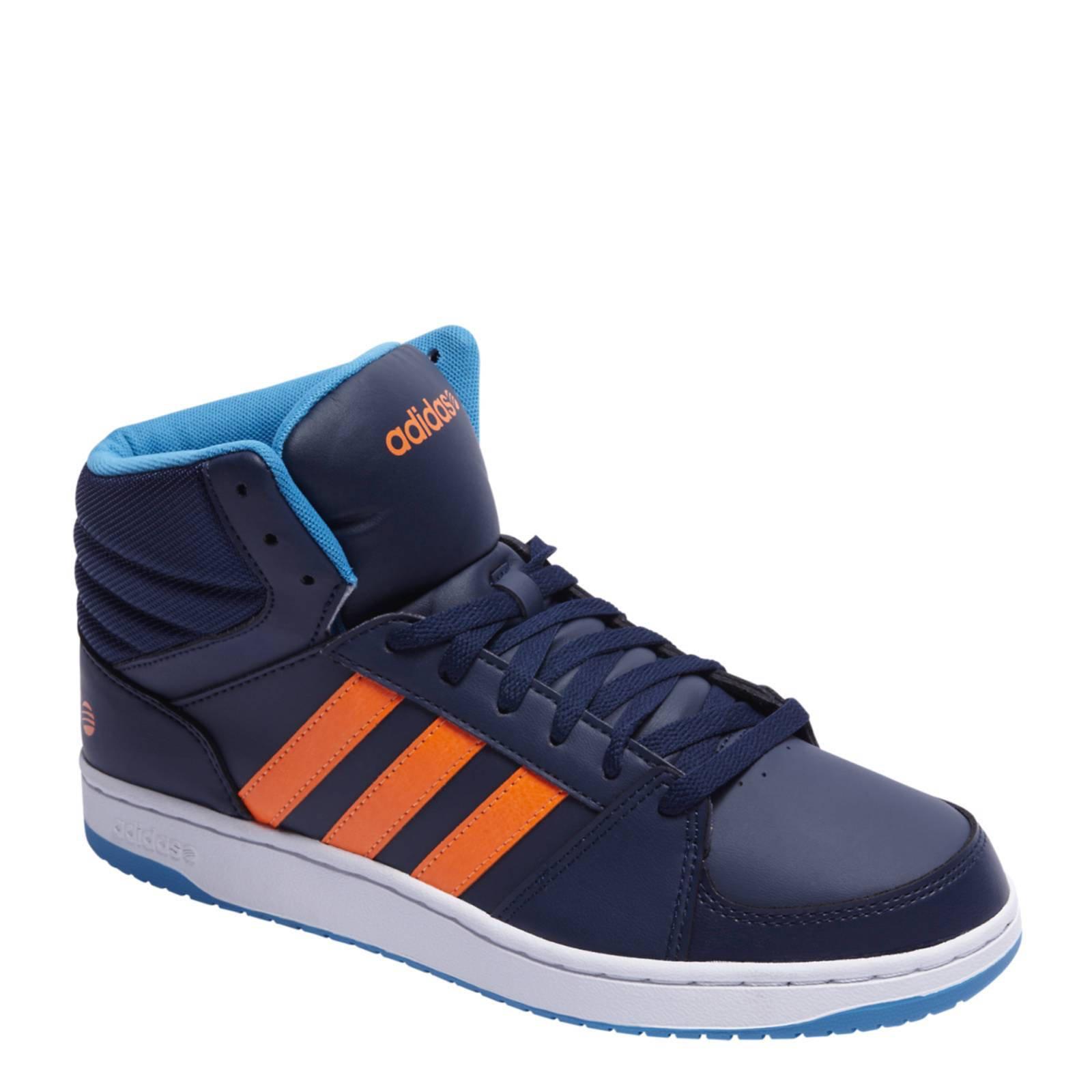 adidas neo blauw oranje