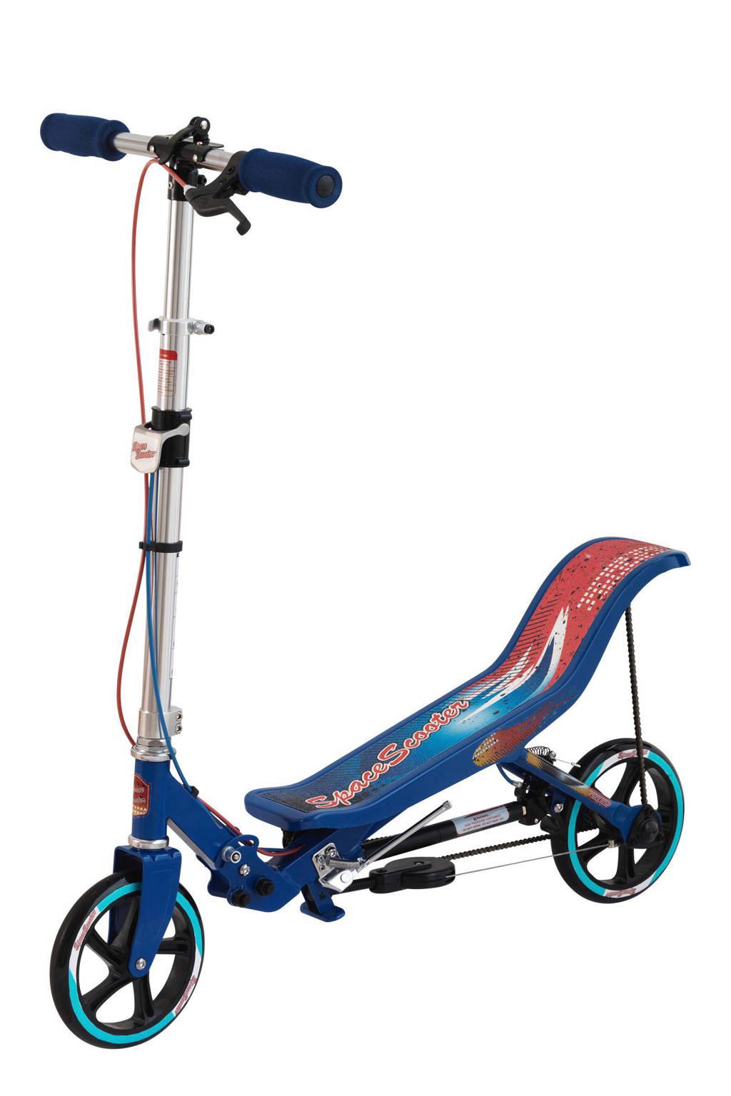SpaceScooter blauw, Blauw