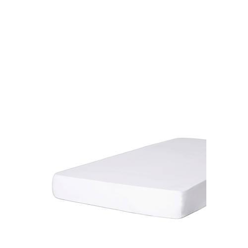 katoenen hoeslaken Wit kopen