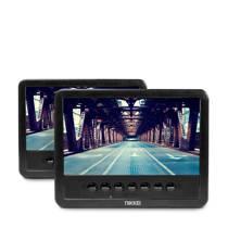 Nikkei NPD720MT portable DVD speler met 2 displays