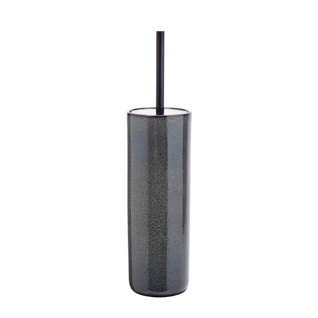 Aquanova toiletborstelset Ugo (Ø10x38,5 cm)   zwart, Zwart