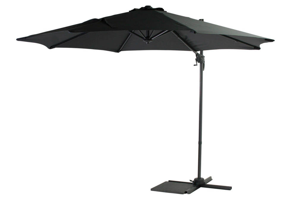SenS-Line parasol Honolulu (ø300 cm), Antraciet