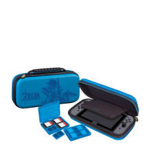 Nintendo Switch Zelda travelcase blauw