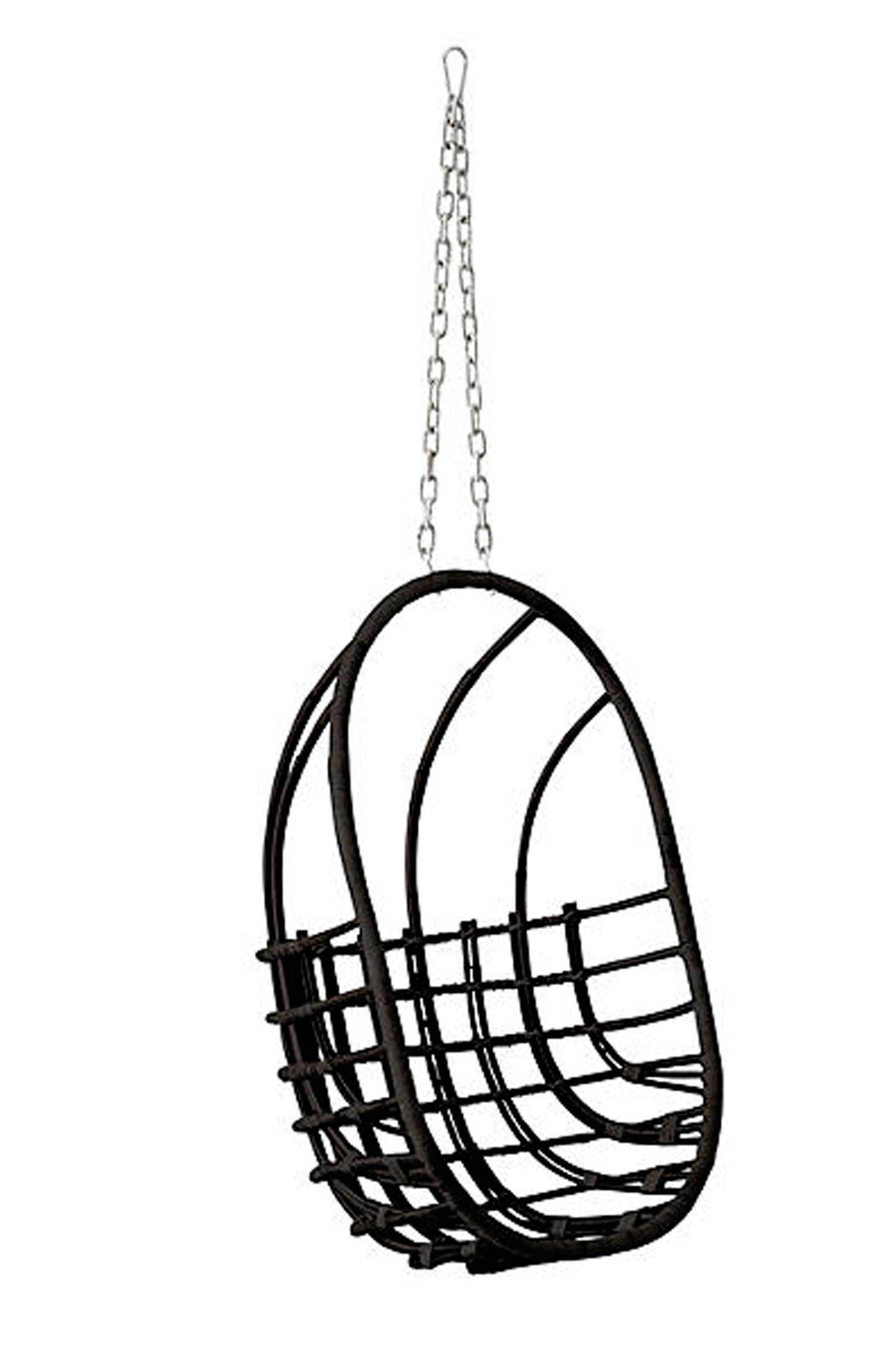 Hangstoel Zwart Egg.Egg Chair Hangstoel