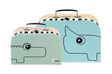 koffertjes 2 stuks