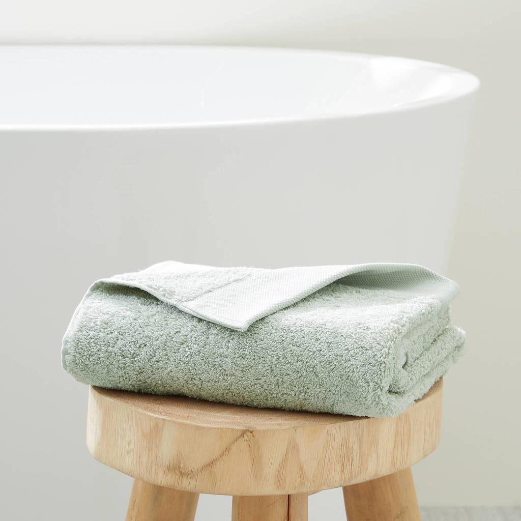 wehkamp home handdoek hotelkwaliteit (50 x 100 cm) Lichtgroen