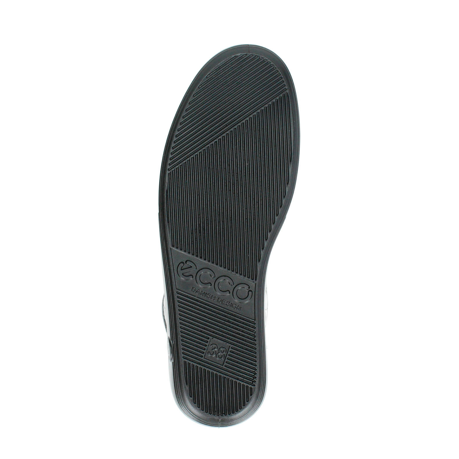 Ecco Comfort soft 2.0 lakleren veterschoenen | wehkamp