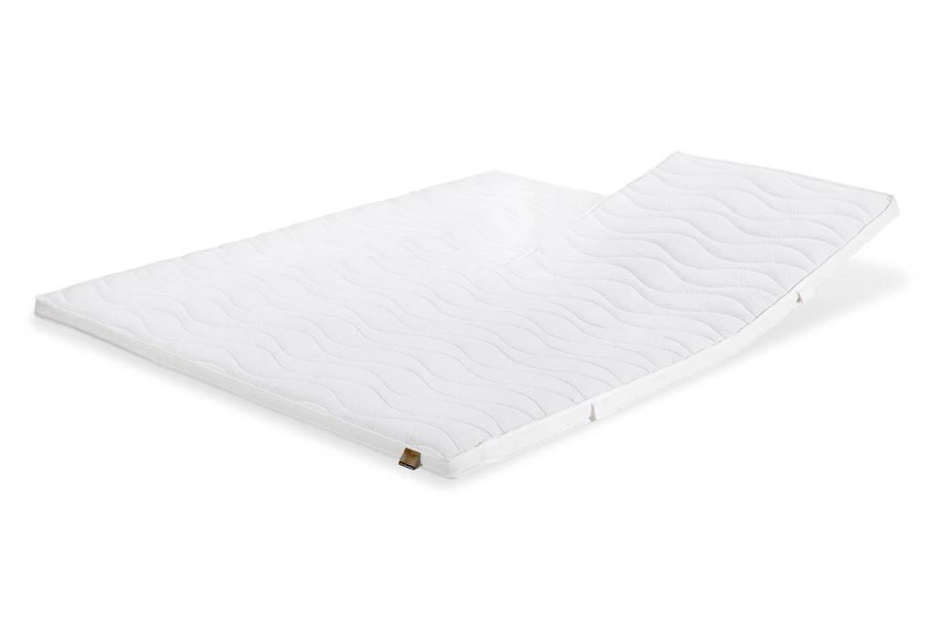 Beter Bed splittopmatras Gold Latex (140x210 cm), Wit