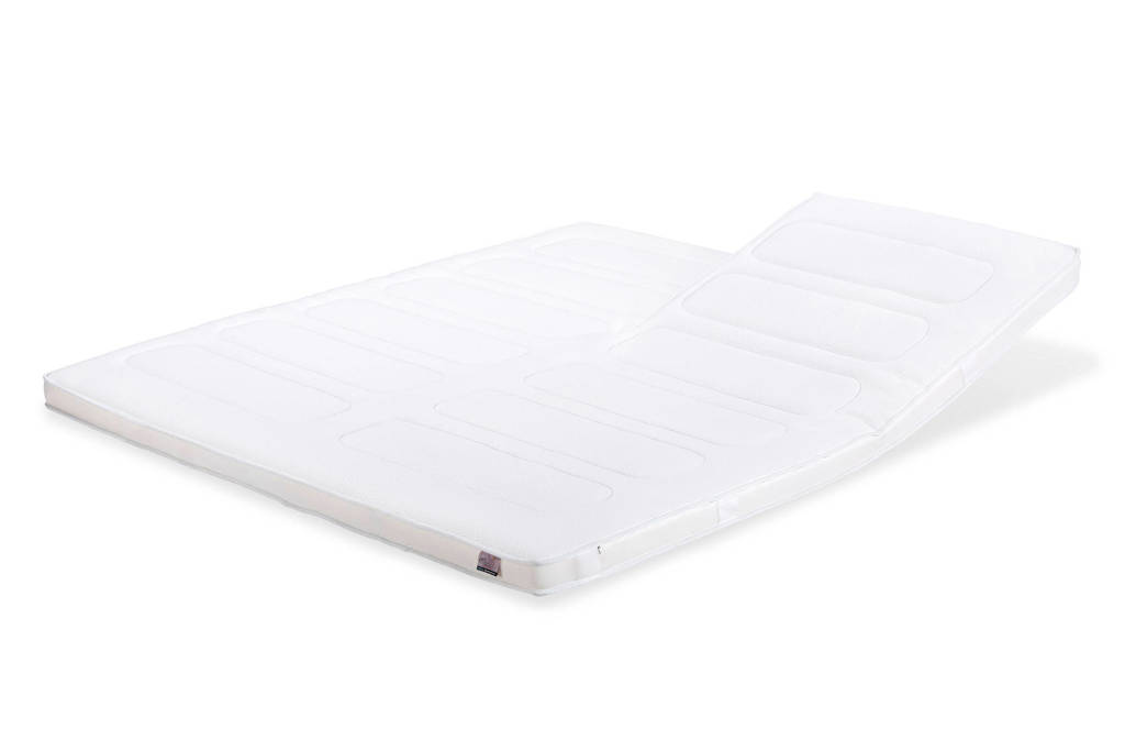 Beter Bed splittopmatras Platinum Visco (140x200 cm), Wit