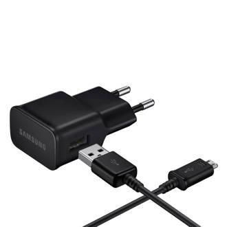 oplader + micro USB-kabel