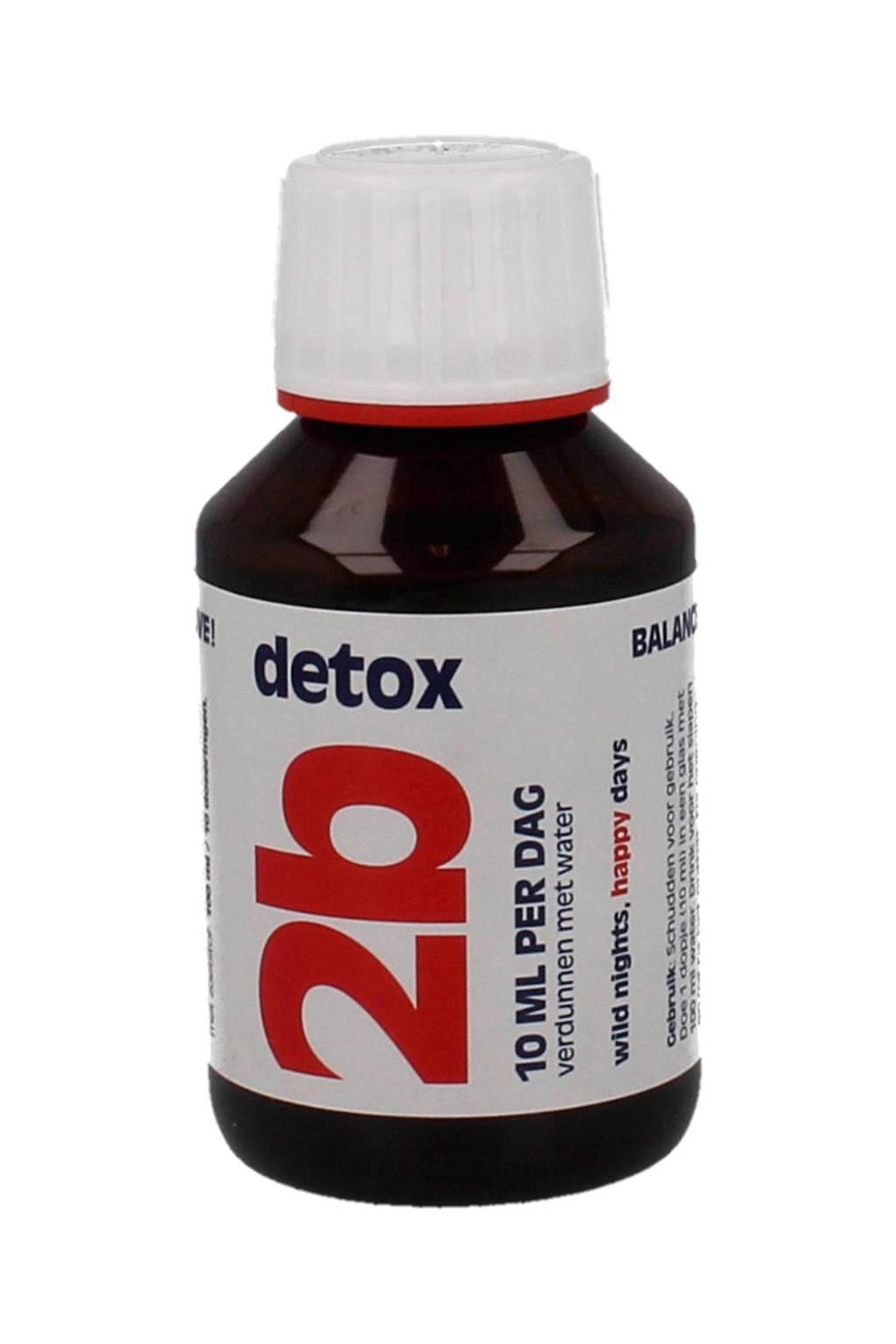 Amiset 2B Detox - 100 ml - voedingssupplement