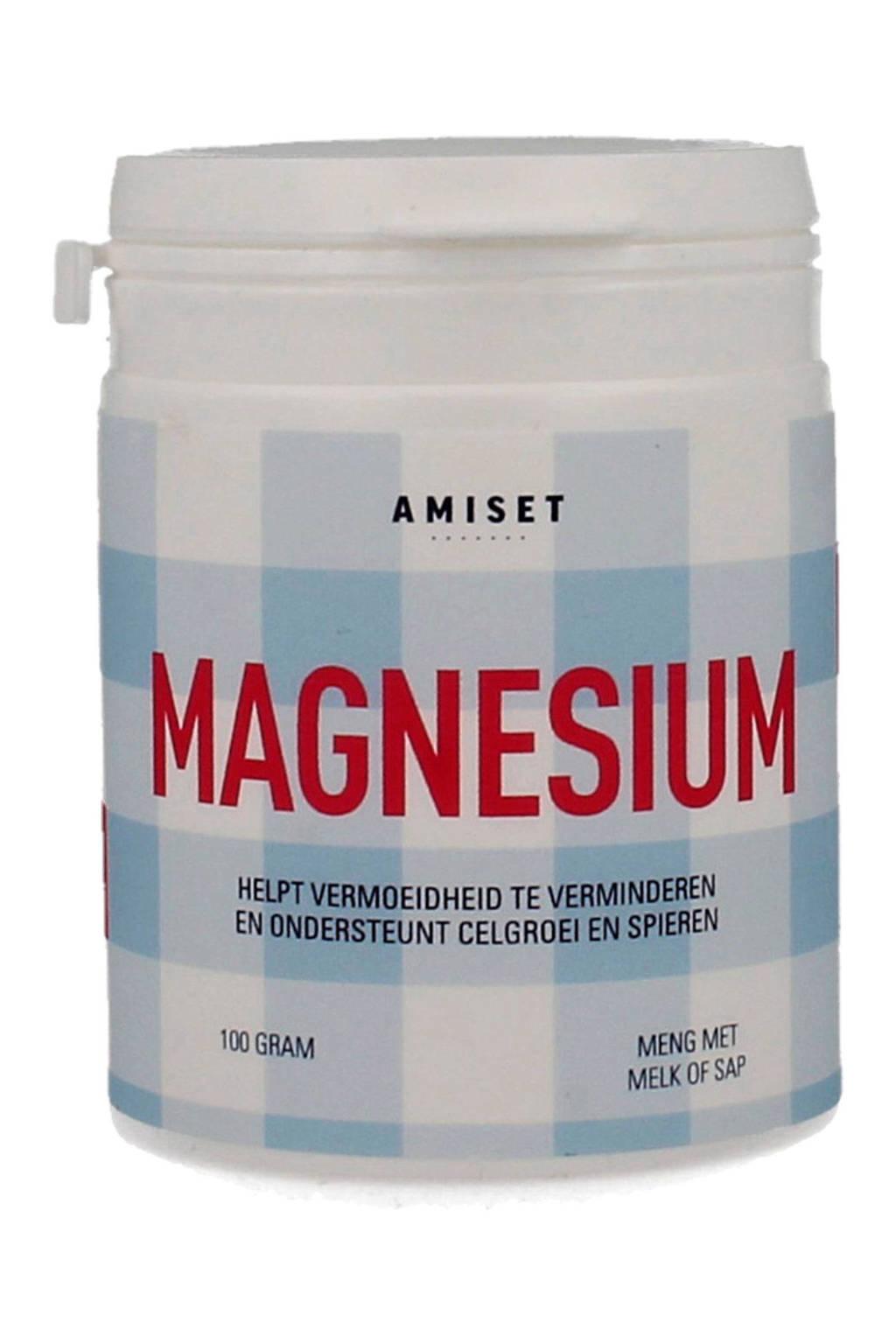 Amiset Magnesium poeder - 100 gram