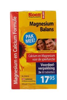 Balans Magnesium voordeelverpakking - 120 tabletten - mineralen