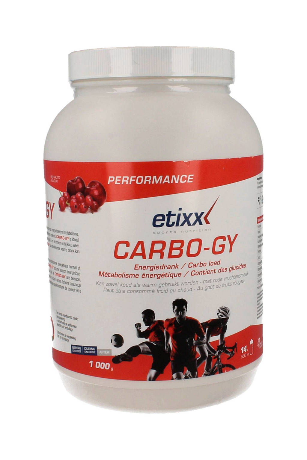 Etixx Performance Carbo Gy - 1000 gram - vitamine preparaat