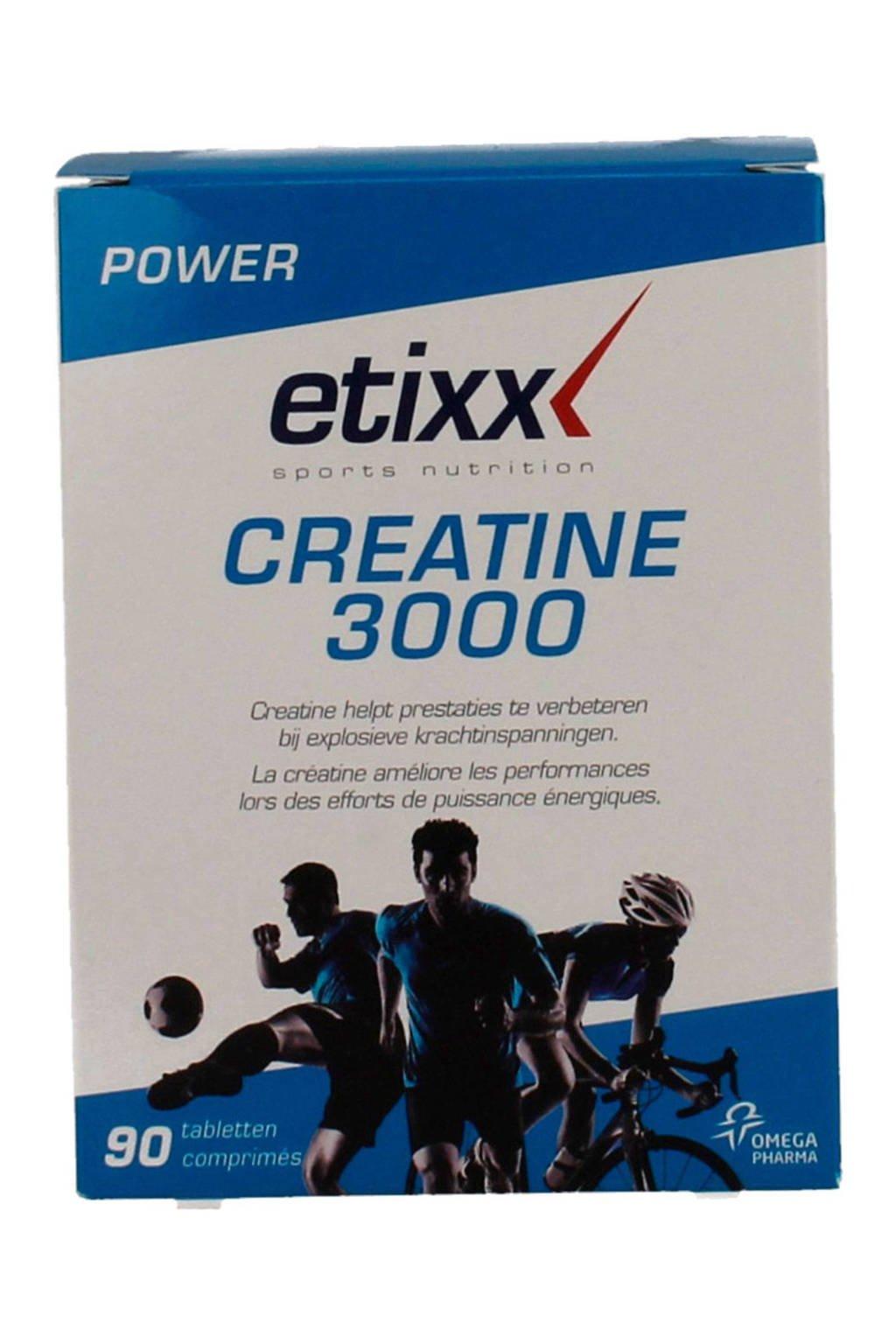 Etixx Power Creatine 1000 met Taurine - 90 tabletten
