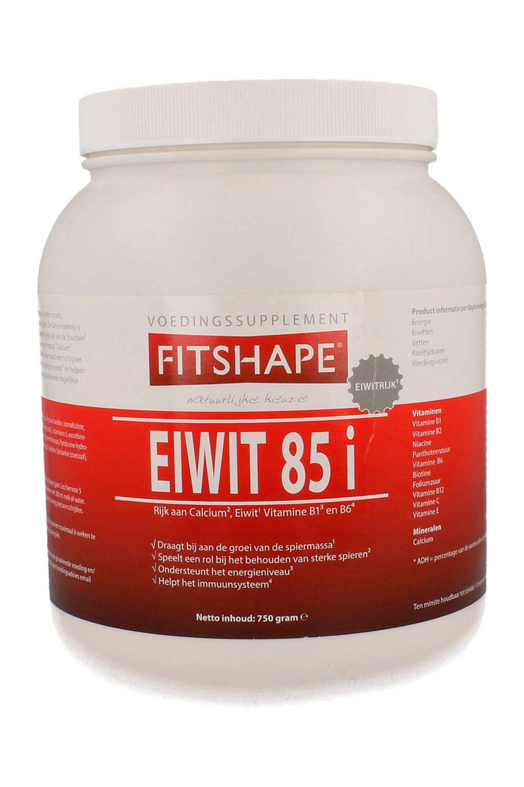 Fitshape Eiwit 85% eiwitshake - Banaan - 750 gram - voedingssupplement