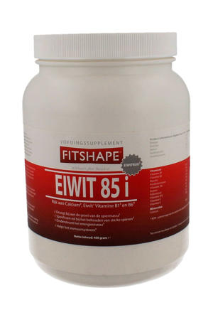 Eiwit 85% eiwitshake - Vanille - 400 gram - voedingssupplement