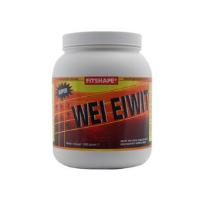 Wei Eiwit eiwitshake -  Aardbei -  1000 gram - sportvoeding