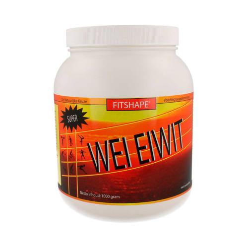 Fitshape Wei Eiwit eiwitshake - Vanille - 1000 gram - sportvoeding kopen