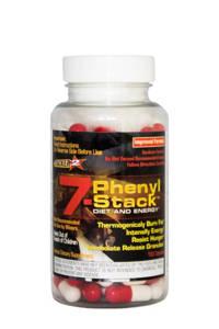 Stacker 7-Phenyl Ephedra vrij - 100 capsules