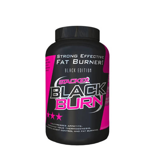 Stacker Black Burn - 120 capsules