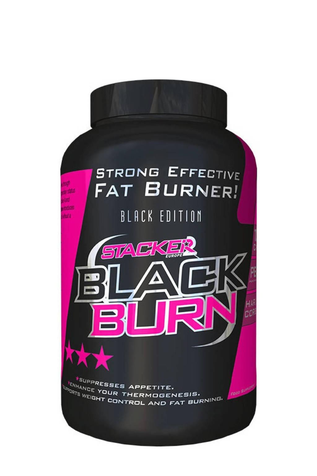 Stacker Black Burn - 120 capsules