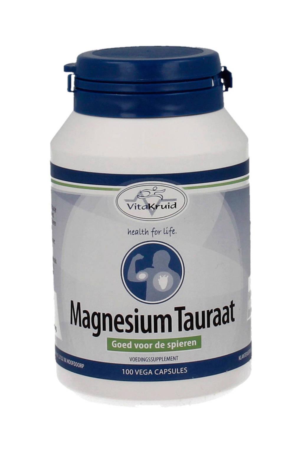 Vitakruid Magnesium Tauraat B6 - 100 capsules