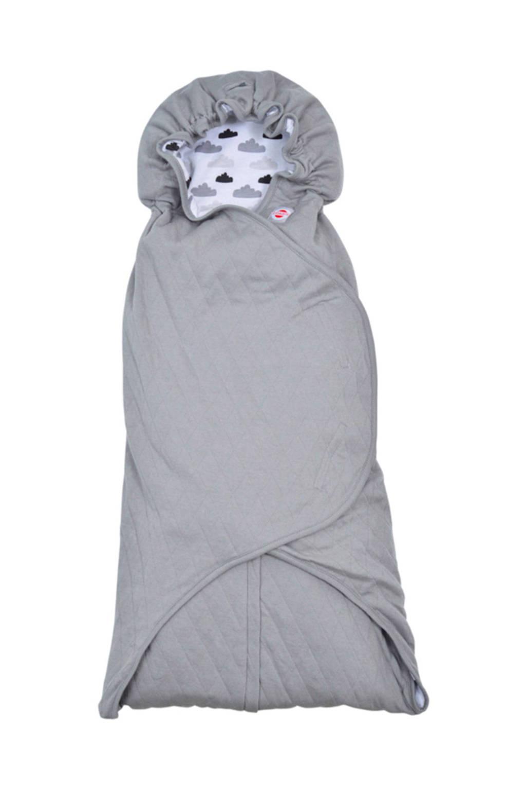 Lodger wikkeldeken clever quilt, Grey