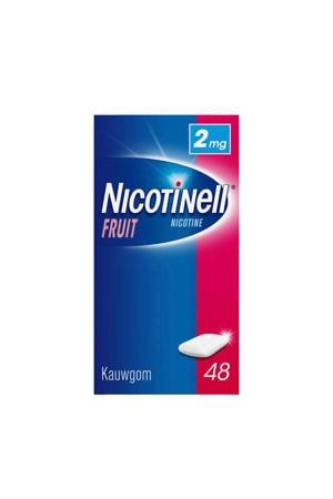 kauwgom - 2mg - Fruit - 48 stuks