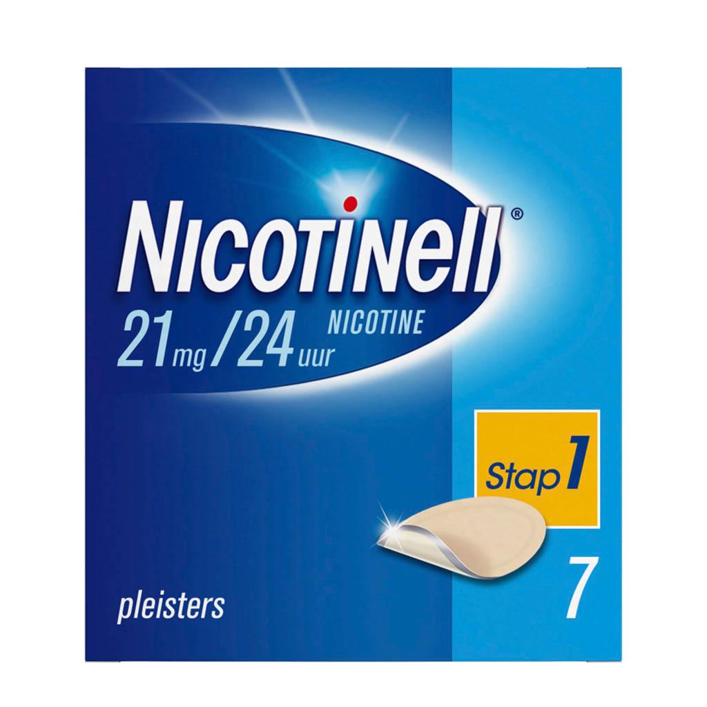 Nicotinell pleisters - 21mg/24uur - 7 stuks