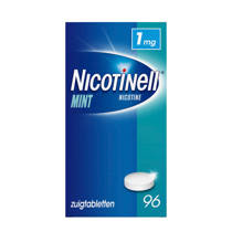 Nicotinell Zuigtablet 1mg - Mint - 96 stuks