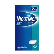Nicotinell Zuigtablet 2mg - Mint - 96 stuks