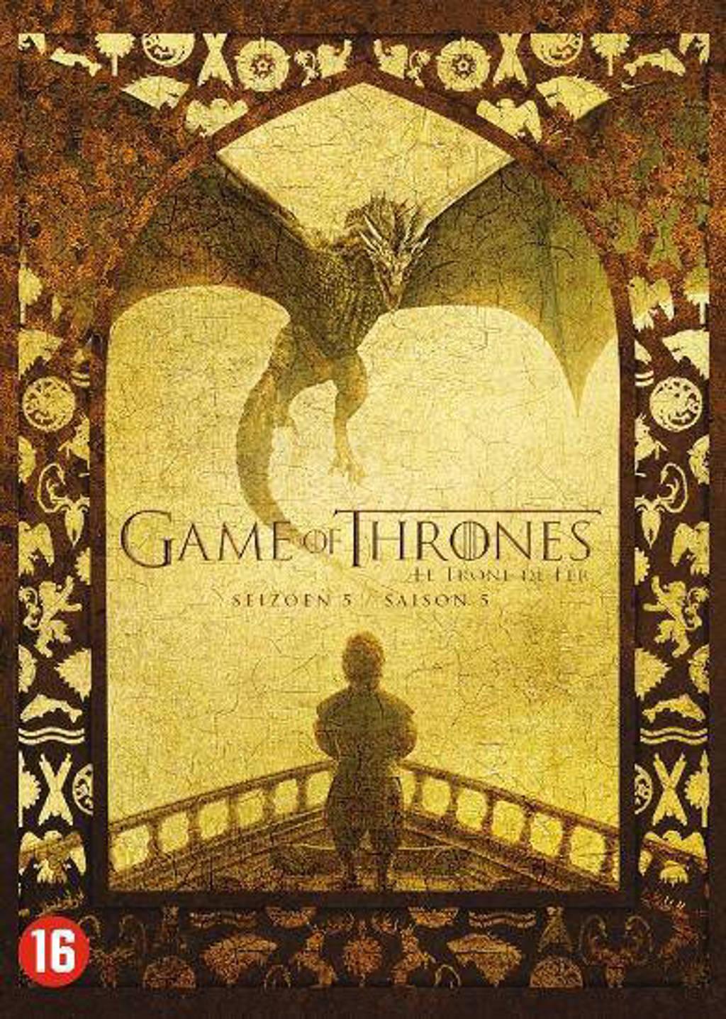 Game of thrones - Seizoen 5 (DVD)