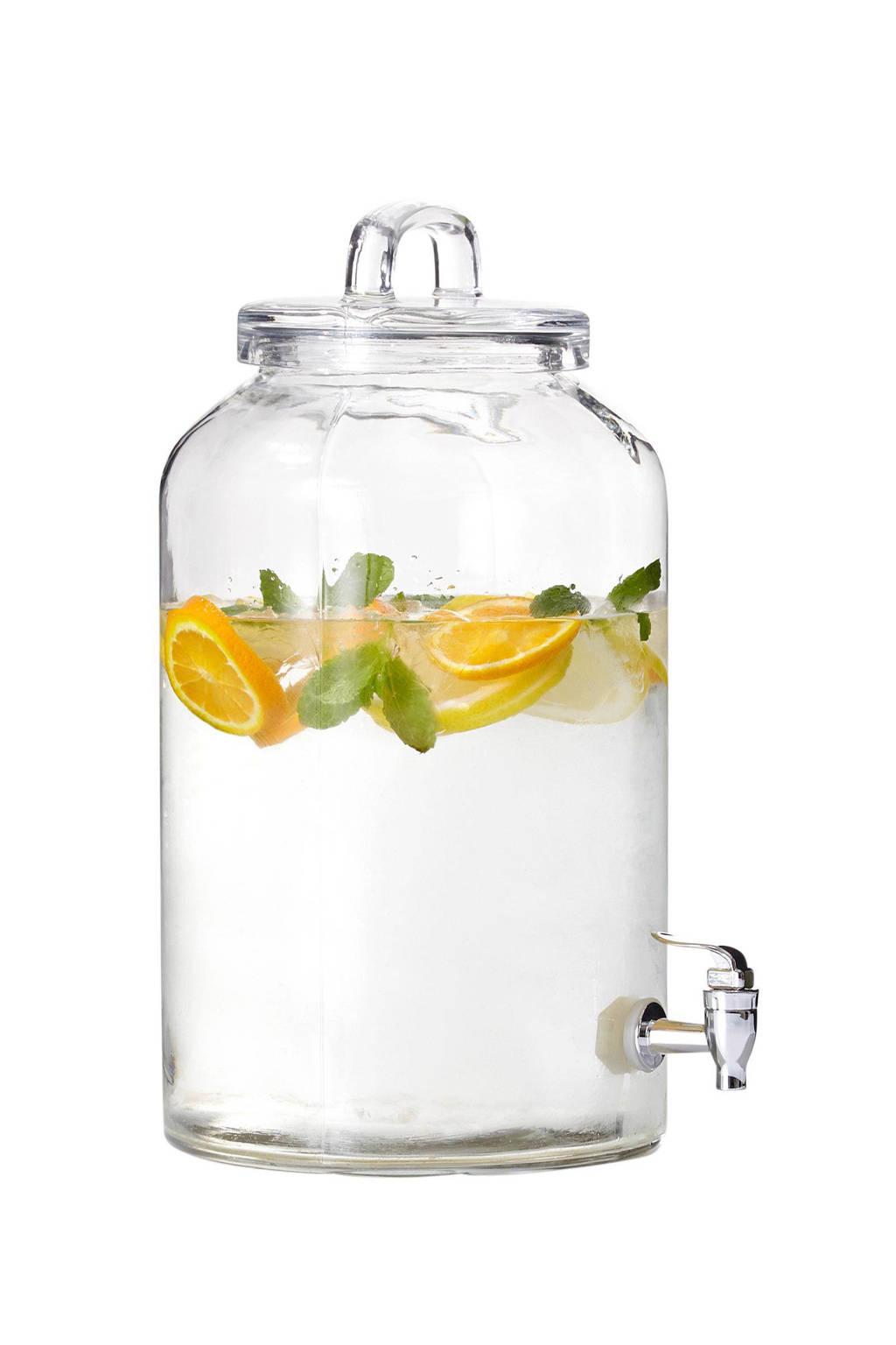 House Doctor limonadetap (Ø20 cm), Transparant