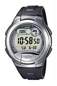 Casio horloge, RVS/zwart
