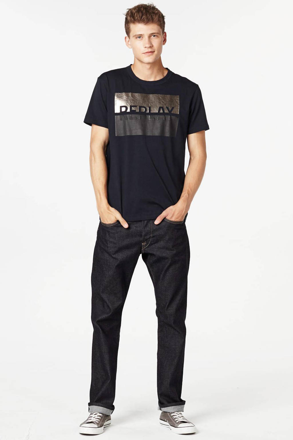 REPLAY regular fit jeans Waitom, Rinsed