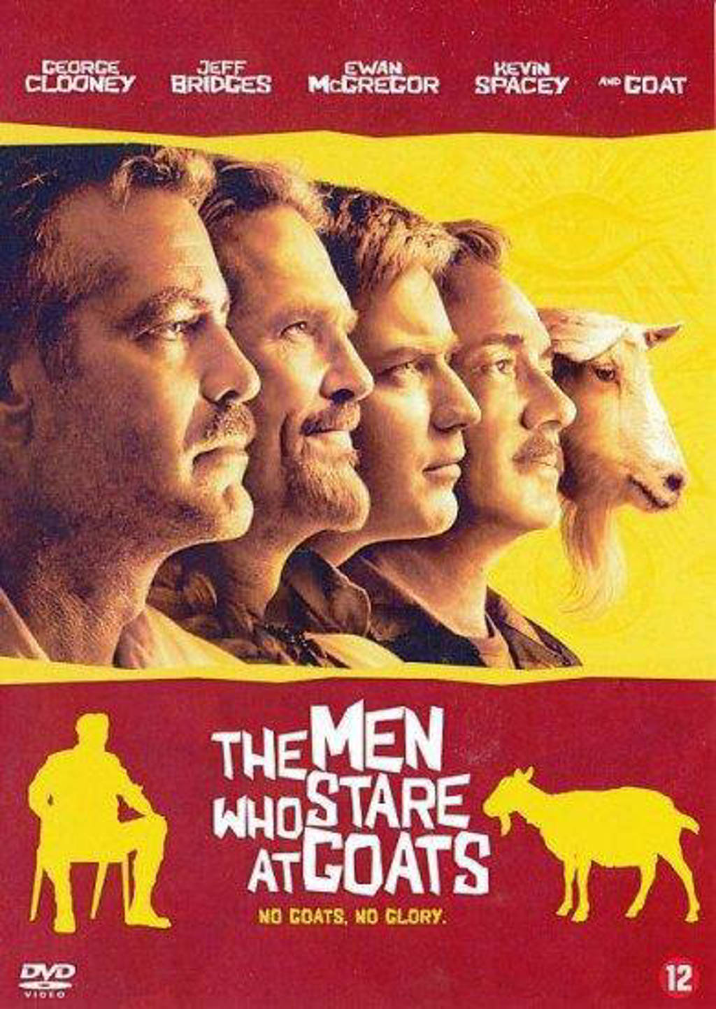 Men who stare at goats (DVD)