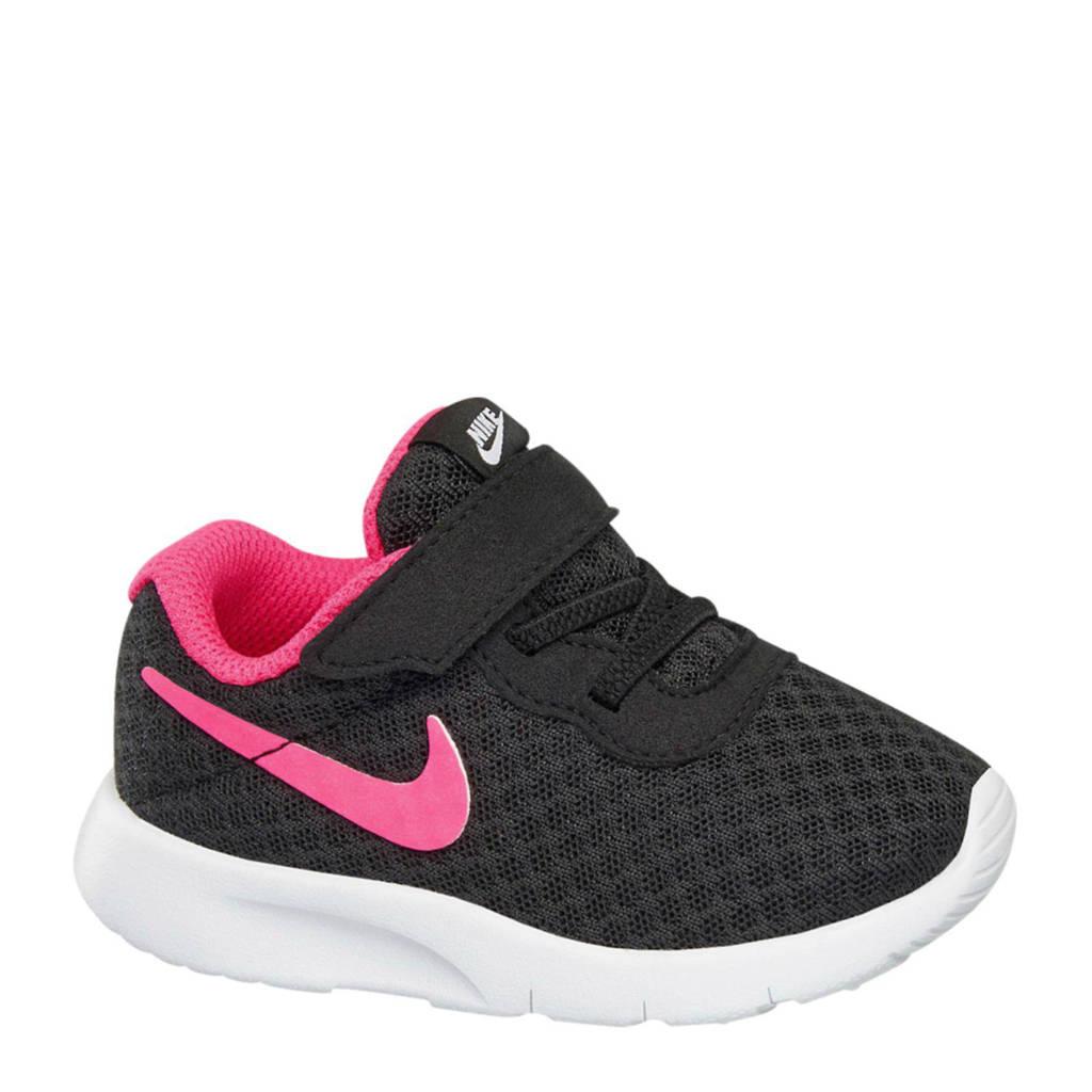 buy popular 2a766 4ba14 Nike Tanjun sneakers meisjes, Zwartroze