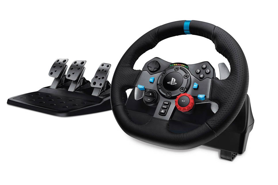 Logitech Gaming G29 Driving Force race stuur (PS4/PS3/PC)