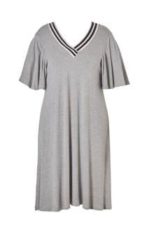 A-lijn jurk met ribboord