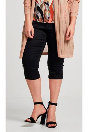slim fit capri jeans Emily zwart