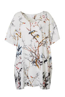 Zizzi tuniek met all over print (dames)