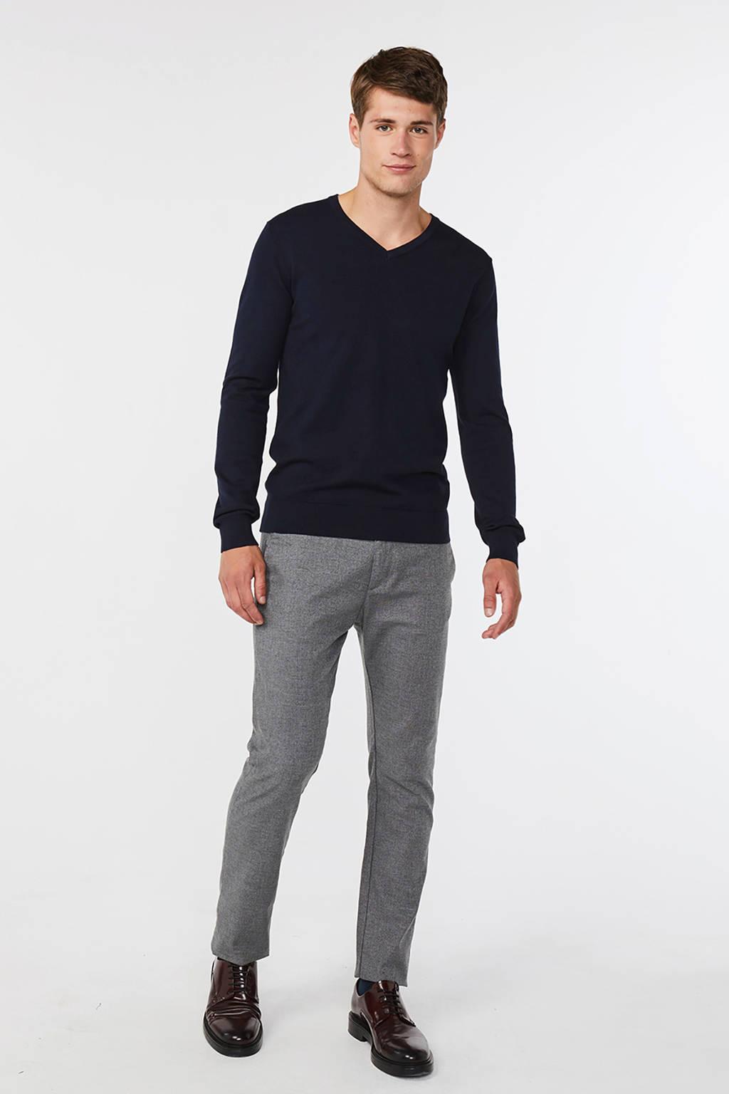 WE Fashion Fundamental trui, Donkerblauw